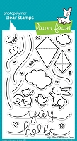 Lawn Fawn - Clear Stamps - Yay, Kites