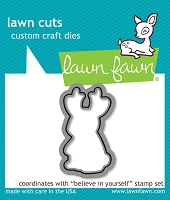 Lawn Fawn - Die - Believe In Yourself Lawn Cuts