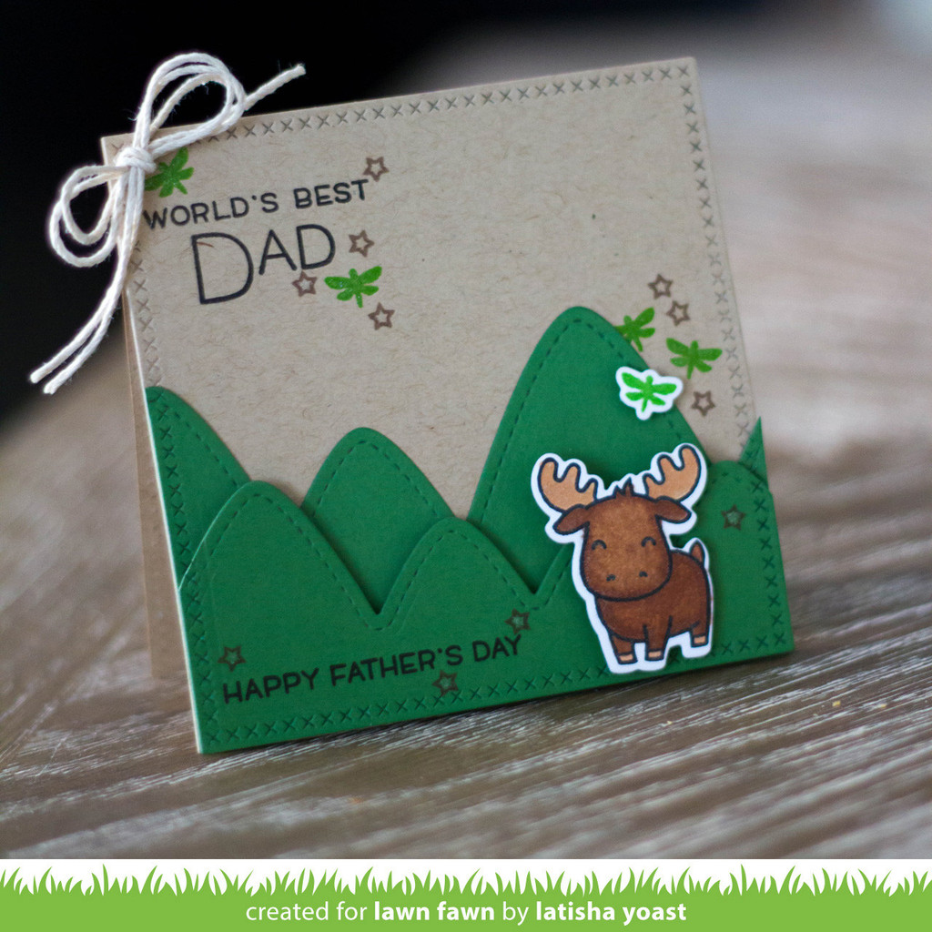 Lawn Fawn Die Stitched Mountain