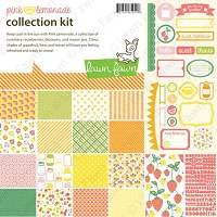 Lawn Fawn - Pink Lemonade collection