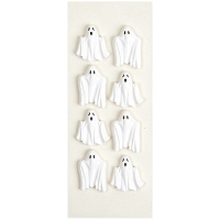 Little B - 3D Mini Stickers - Scary Ghosts