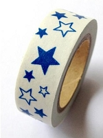 Love My Tapes - Washi Tape - Blue Stars