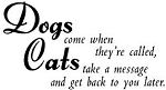 Magenta Cling Stamp - Dogs & Cats