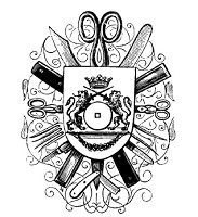 Magenta - Cling Rubber Stamp - Coat of Arms