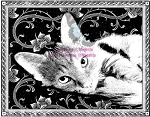 Magenta Cling Stamp - Susie Large (limited edition)