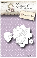 Magnolia Doohickeys - Die - Cloudy Tag