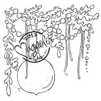 Magnolia - Cling Mounted Rubber Stamp - Jingle Jangle Tangle