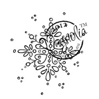 Magnolia - Cling Mounted Rubber Stamp - Jingle Jangle Snowflake