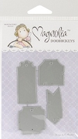 Magnolia Doohickeys - Die - Turning Leaves Collection - Tea Label Tags