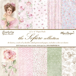 Maja Design - Sofiero Collection - 6x6 Paper Pad