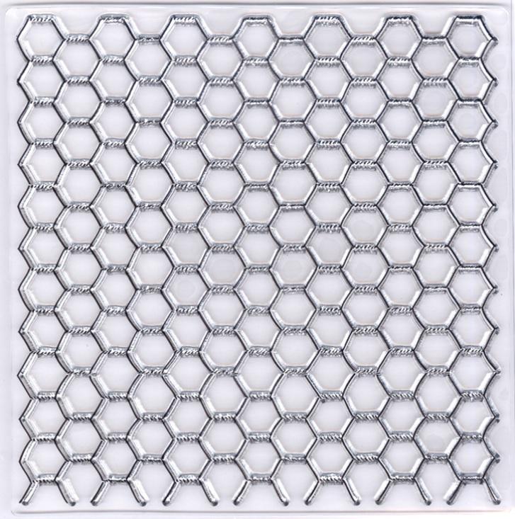Marianne Design - Clear Stamp - Chicken Wire Background Stamp