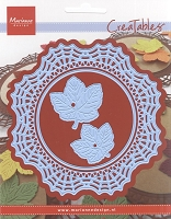 Marianne Design - Creatables Die - Spiderweb Doily and Leaves