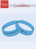 Marianne Design - Creatables Die - Wedding Rings
