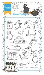 Marianne Design - Clear Stamp - Hetty's Happy Penguins