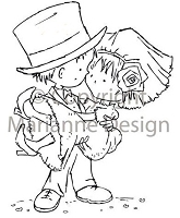 Marianne Design - Clear Stamp - Don & Daisy - Just Married