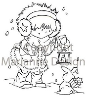 Marianne Design - Clear Stamp - Don & Daisy - Xmas Things