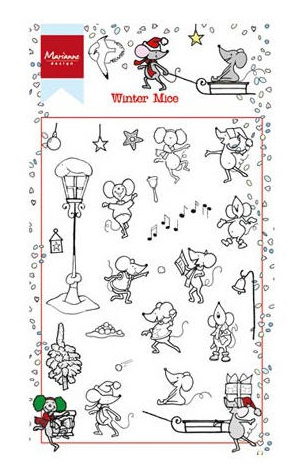 Winter Clear Stamps