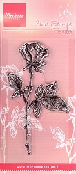 Marianne Design - Clear Stamp - Tiny's Single Rose