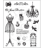 Marianne Design - Clear Stamps - Fashion