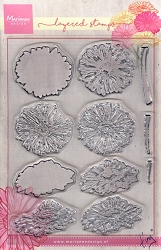 Marianne Design - Clear Stamp - Tiny's Layered Gerbera Daisies