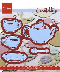 Marianne Design - Creatables Die - Tea for You (Teapot and Teacups)