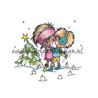 Marianne Design - Clear Stamps - Don & Daisy - Christmas Romance