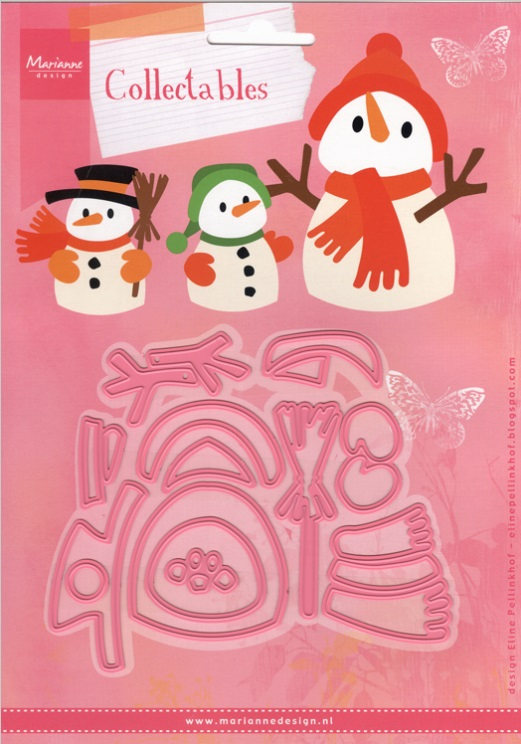 Marianne Design - Winter themed stamps, dies, and embossing folders