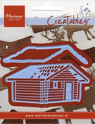 Marianne Design - Creatables Die - Tiny's Log Cabin