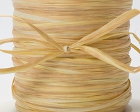 May Arts Ribbon - Paper Raffia - Champagne (Price per yard)