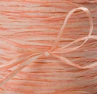 May Arts Ribbon - Paper Raffia - Orange (Price per yard)