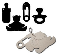 Maya Road - Keychain Chipboard - Baby