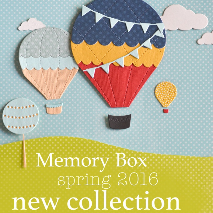 Memory Box - April 2016 new die release