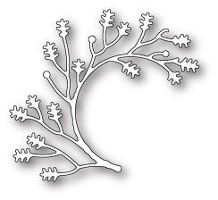 Poppy Stamps - Die - Twisted Oak Branch