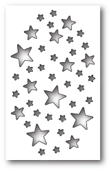 Memory Box - Die - Shimmer Star Collage