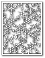 Poppy Stamps - Die - Snowflake Lattice Frame