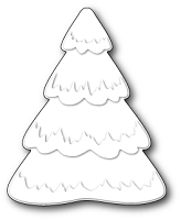Poppy Stamps - Die - Puffy Snowtree