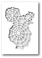 Poppy Stamps - Die - Spider Web Cutout
