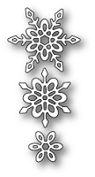 Poppy Stamps - Die - Madeleine Snowflakes