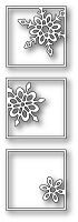 Poppy Stamps - Die - Snowflake Triptych
