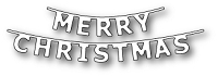 Poppy Stamps - Die - Merry Christmas Banner