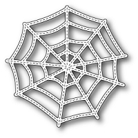 Poppy Stamps - Die - Stitched Cobweb