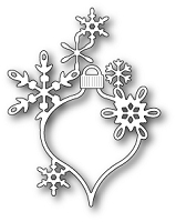 Poppy Stamps - Die - Lavinia Snowflake Ornament
