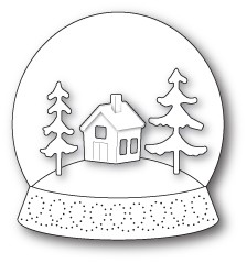 Memory Box - Open Studio Die Set - Snowglobe Kit