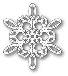 Memory Box - Die - Purslane Snowflake Outline