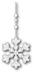 Memory Box - Die - Hanging Evelyn Snowflake
