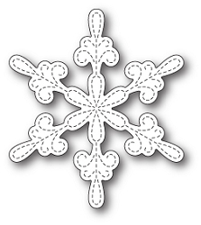 Memory Box - Die - Chancery Snowflake Outline
