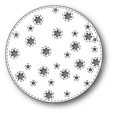 Memory Box - Die - Stitched Snowflake Circle