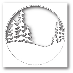 Memory Box - Die - Stitched Circle Trees