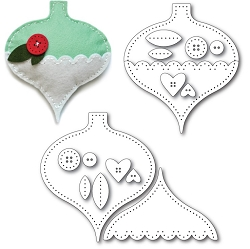 Memory Box - Die - Plush Gift Ornament