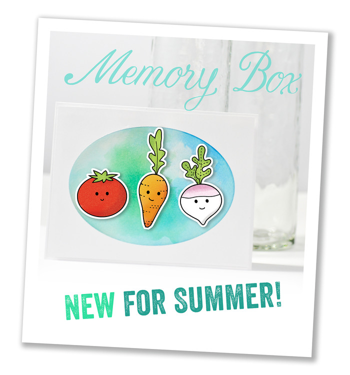 Memory Box - May 2016 stamp & die release